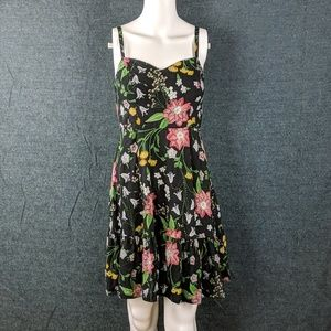 Old Navy Floral Summer Ruffle Dress